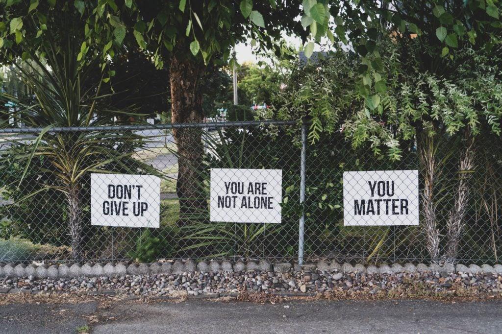 Overcome depression - Not alone.
